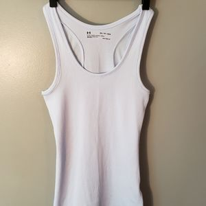 Two fitted under armour tank tops